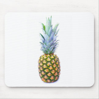 Pineapple Fruit Beach Dessert Colorful Tropical Mouse Pad