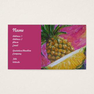 Pineapple Fruit Business Cards