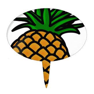 Pineapple Fruit Cake Topper