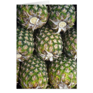 pineapple fruit card
