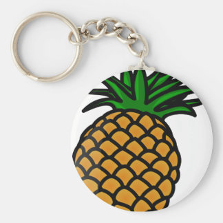 Pineapple Fruit Keychain