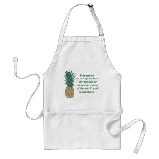 Pineapple Fruit Learning Aprons