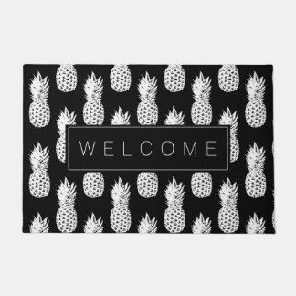 Pineapple fruit pattern custom welcome door mat
