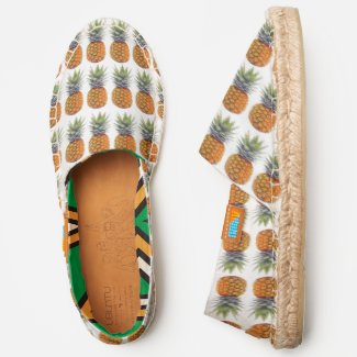 Pineapple Fruit Pattern, Food Lovers, ZSSG Espadrilles