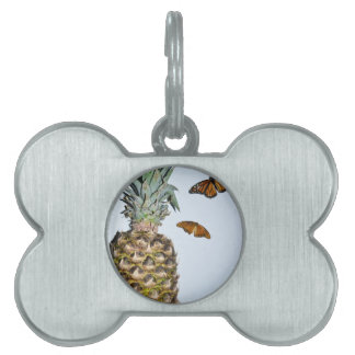 Pineapple Fun Pet Name Tag
