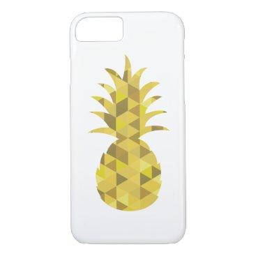 Aztec Themed pineapple geometric iphone case