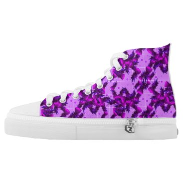 Beach Themed Pineapple High Tops Shoes
