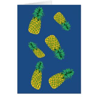 Pineapple Humorous Birthday Card