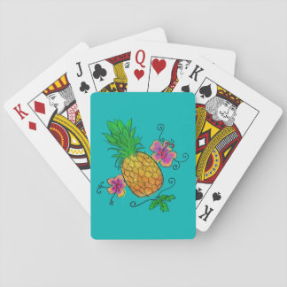 Pineapple Illustration | Playing Cards
