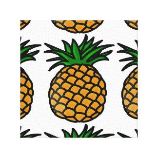 Pineapple Image Canvas Print