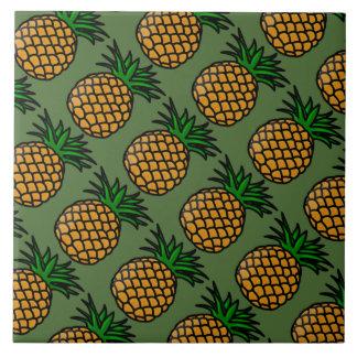 Pineapple Image Ceramic Tile