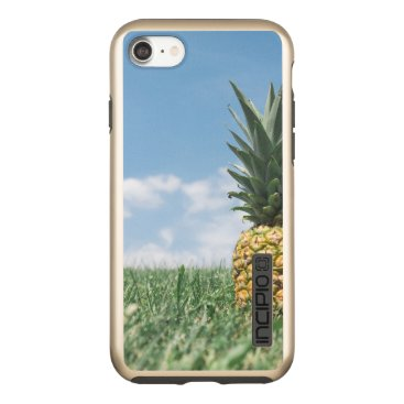 Beach Themed Pineapple in a Field Incipio DualPro Shine iPhone 8/7 Case