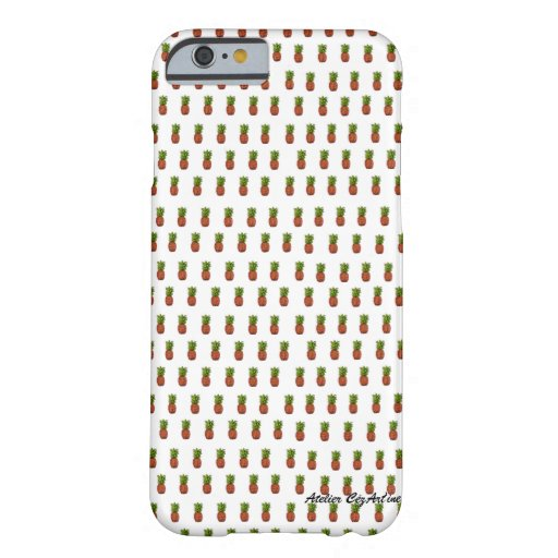 Pineapple Iphone Shell Barely There iPhone 6 Case