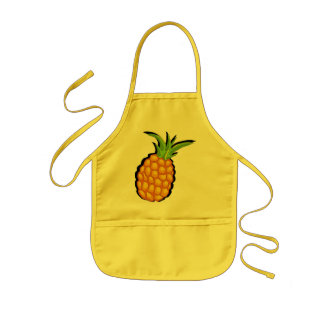 pineapple kids' apron