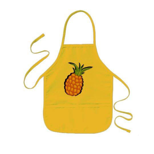pineapple kids' apron