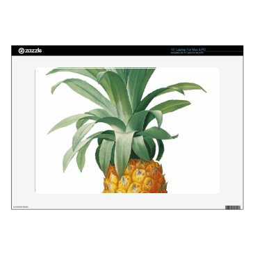 Beach Themed Pineapple Laptop Decal