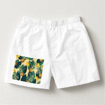 pineapple lemons yellow boxers