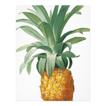 Beach Themed Pineapple Letterhead