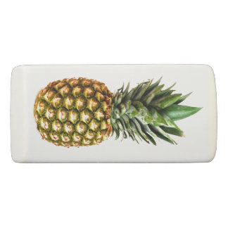 Pineapple lover personalized wedge erasers