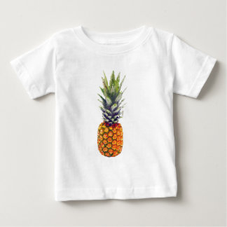 Pineapple Low-Poly Triangulated Baby T-Shirt