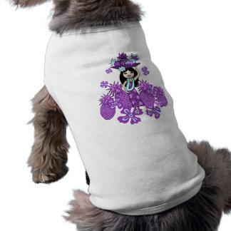 Pineapple Luau Doggie T-Shirts Tee