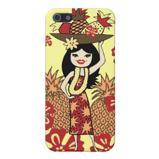 Pineapple Luau Hawaiian iPhone 4 Cases