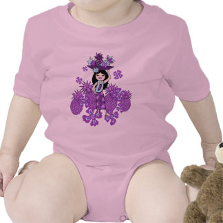 Pineapple Luau Toddlers & Infants T-Shirts