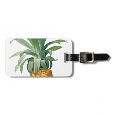 Beach Themed Pineapple Luggage Tag