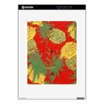 Pineapple Mainia (Vintage Aloha Print) Decal For The iPad