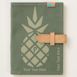 Pineapple Motif Journal