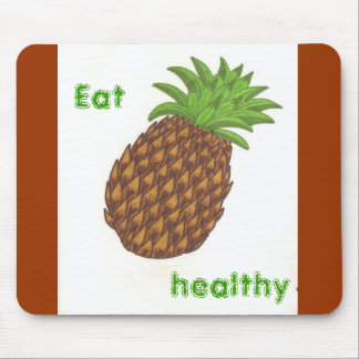 Pineapple mousepad