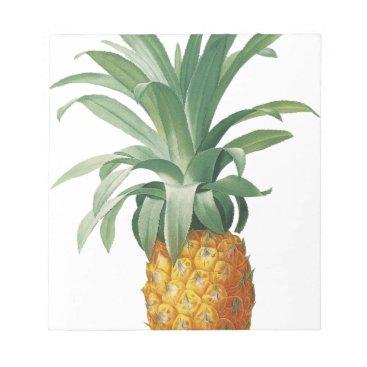 Beach Themed Pineapple Notepad