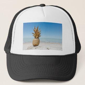 Pineapple on the Beach Trucker Hat