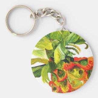 Pineapple Painting (K.Turnbull Art) Keychain