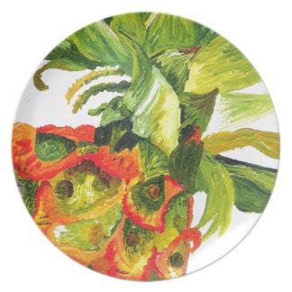 Pineapple Painting K Turnbull Art Plates