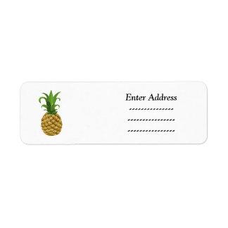 Pineapple Party  address label Sticker