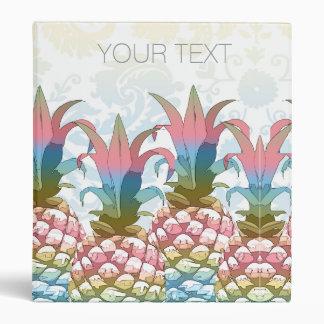 Pineapple Pastel Gradient ID246 3 Ring Binder
