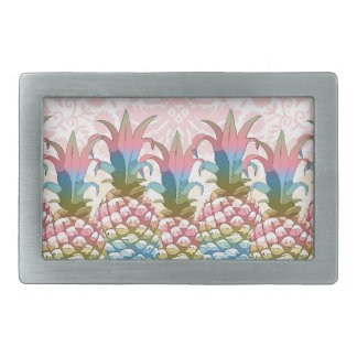 Pineapple Pastel Gradient ID246 Belt Buckle