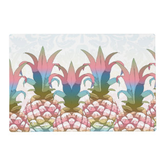 Pineapple Pastel Gradient ID246 Placemat