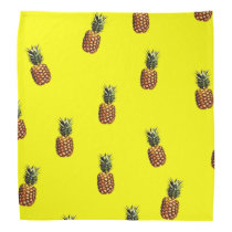 pineapple pattern bandana