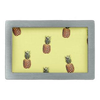 pineapple pattern belt buckle