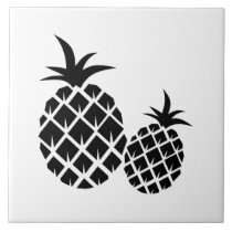 Pineapple Pattern Ceramic Tile