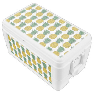 Pineapple Pattern Chest Cooler