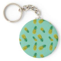 Pineapple Pattern on Keychain