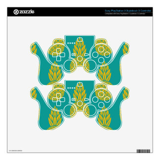 Pineapple Pattern PS3 Controller Decal