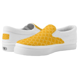 Pineapple Pattern Slip-On Sneakers