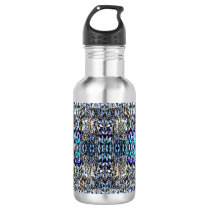 Pineapple Pattern Stainless Steel Water Bottle