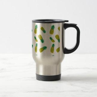 Pineapple Pattern Travel Mug