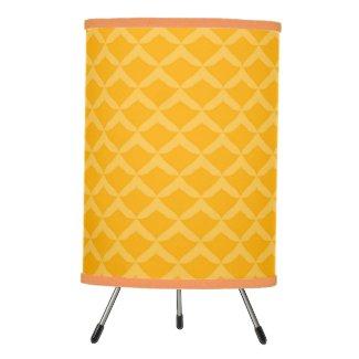 Pineapple Pattern... Tripod Lamp