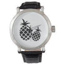 Pineapple Pattern Watch